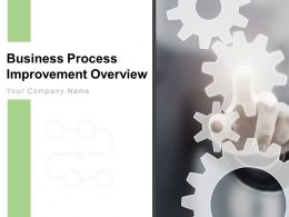 Business Process Improvement Overview Powerpoint Presentation Slides