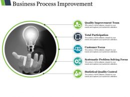 Business Process Improvement Ppt Examples