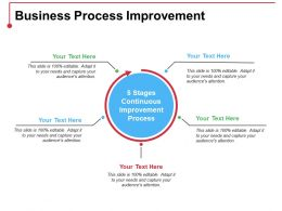 Business Process Improvement Ppt Ideas Introduction