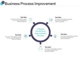 Business Process Improvement Ppt Powerpoint Presentation Styles Themes