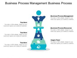 Business Process Management Business Process Resources Stages Team Cpb