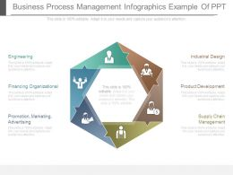 Business Process Management Infographics Example Of Ppt