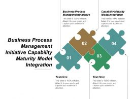 Business Process Management Initiative Capability Maturity Model Integration Cpb