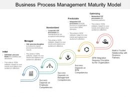 Business Process Management Maturity Model