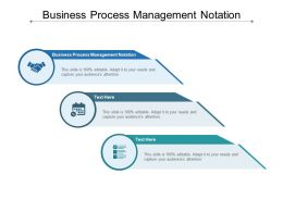 Business Process Management Notation Ppt Powerpoint Show Cpb