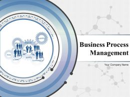 Business Process Management Powerpoint Presentation Slides