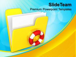 Business Process Management Presentation Templates And Themes Computer Storage