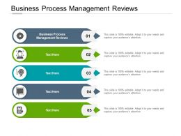 Business Process Management Reviews Ppt Powerpoint Presentation Model Images Cpb