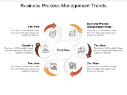 Business Process Management Trends Ppt Powerpoint Presentation File Show Cpb