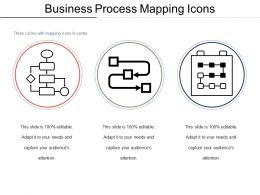 Business Process Mapping Icons