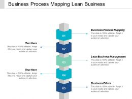 Business Process Mapping Lean Business Management Business Ethics Cpb