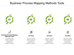 Business Process Mapping Methods Tools Ppt Powerpoint Presentation Infographic Cpb