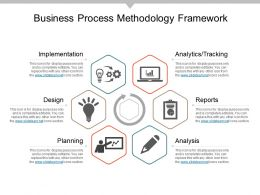 Business Process Methodology Framework Example Of Ppt