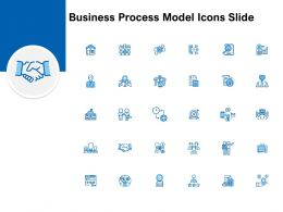 Business Process Model Icons Slide L990 Ppt Powerpoint Presentation Deck