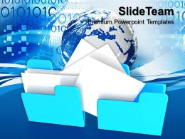 Business Process Model Presentation Templates And Themes Information Technology Online