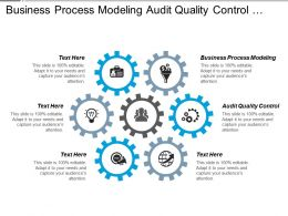 Business Process Modeling Audit Quality Control Strategic Compensation Cpb