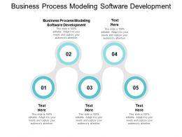 Business Process Modeling Software Development Ppt Powerpoint Presentation Outline Slide Download Cpb