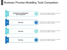Business Process Modelling Tools Comparison Ppt Powerpoint Presentation Infographic Template Cpb