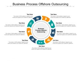 Business Process Offshore Outsourcing Ppt Powerpoint Presentation File Cpb