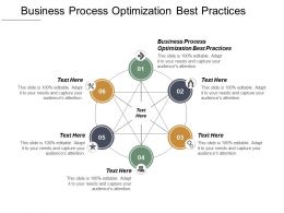 Business Process Optimization Best Practices Ppt Powerpoint Presentation Pictures Portfolio Cpb