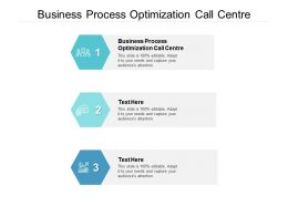 Business Process Optimization Call Centre Ppt Powerpoint Presentation Diagram Templates Cpb
