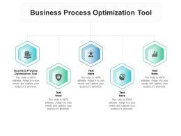 Business Process Optimization Tool Ppt Powerpoint Presentation Inspiration Cpb