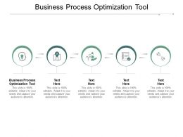 Business Process Optimization Tool Ppt Powerpoint Presentation Portfolio Mockup Cpb