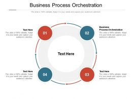 Business Process Orchestration Ppt Powerpoint Presentation Ideas Themes Cpb