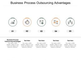 Business Process Outsourcing Advantages Ppt Powerpoint Presentation Portfolio Influencers Cpb