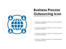 Business Process Outsourcing Icon