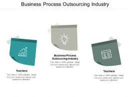 Business Process Outsourcing Industry Ppt Powerpoint Presentation Infographic Template Backgrounds Cpb