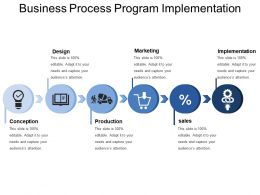 Business Process Program Implementation
