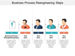 Business Process Reengineering Steps Ppt Powerpoint Presentation Icon Graphics Download Cpb