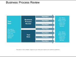 Business Process Review Ppt Powerpoint Presentation Infographics Icon Cpb