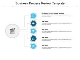 Business Process Review Template Ppt Powerpoint Presentation Icon Template Cpb