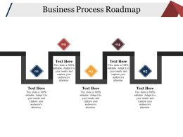 Business Process Roadmap Powerpoint Slide Presentation Examples