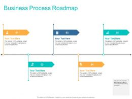 Business Process Roadmap Ppt Powerpoint Presentation Slides Guidelines