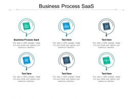 Business Process SAAS Ppt Powerpoint Presentation Outline Model Cpb