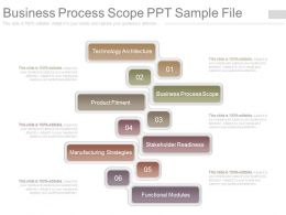 Business Process Scope Ppt Sample File