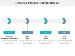 Business Process Standardization Ppt Powerpoint Presentation Pictures Example File Cpb