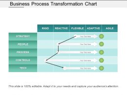 Business Process Transformation Chart Ppt Infographics