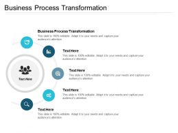 Business Process Transformation Ppt Powerpoint Presentation Infographics Ideas Cpb