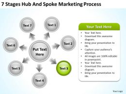 Business Process Workflow Diagram Marketing Powerpoint Templates PPT Backgrounds For Slides