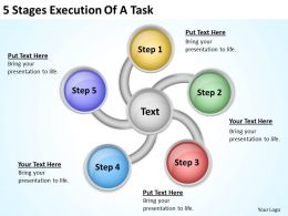 Business Process Workflow Diagram Of Task Powerpoint Templates PPT Backgrounds For Slides