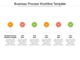 Business Process Workflow Template Ppt Powerpoint Infographic Template Objects Cpb