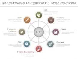 Business Processes Of Organization Ppt Sample Presentations