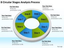 Business Processes Stages Analysis Powerpoint Templates PPT Backgrounds For Slides