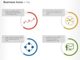 Business Processing Data Analysis Representation Networking Ppt Icons Graphics