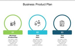 Business Product Plan Ppt Powerpoint Presentation Pictures Aids Cpb