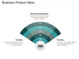 Business Product Value Ppt Powerpoint Presentation File Guidelines Cpb